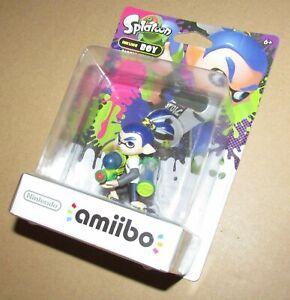 Nintendo Amiibo Inkling Boy Splatoon Brand New / Fast Shipping USA Version