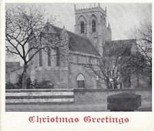 Christmas Card - Grimsby Parish Church, Lincolnshire. Dated 1949.