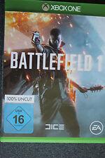 Battlefield 1 (Microsoft Xbox One, 2016, DVD-Box)