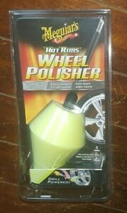 Meguiar's Hot Rims Wheel Polisher - Item #G4400 *Power Drill Needed*