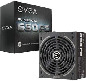 EVGA SuperNOVA 650 P2 80+ PLATINUM 650W 220-P2-0650-X1 Fully Modular 10 yr Wty