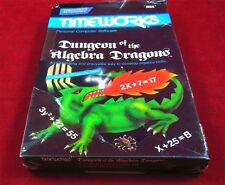 C64: Dungeon of the Algebra Dragons - Timeworks 1983