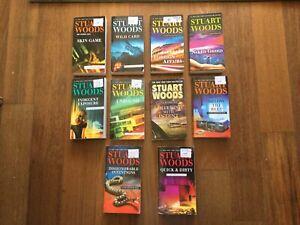 Stuart Woods Books, Lot Of 10