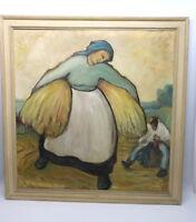 Dannenberg Antonie Öl Gemälde Signiert