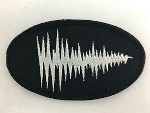 DEVO Official Voiceprint Patch SHOUT Tour 1984 NOS