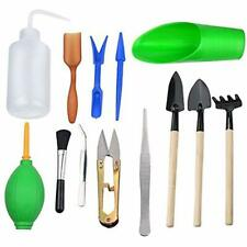 Thee-home 13 Pieces Mini Garden Hand Transplanting Succulent Tools Miniature Set