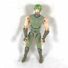 "Jeager (Jade) 6"" Action Figure Ultimate Muscle-Man Kinnikuman Legacy 2002 Bandai"