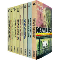 Inspector Montalbano Mysteries Series 2 Books 11 -18 Collection Set PB NEW