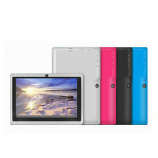Android 4.4 Four Core 7'' Tablet Computer PC Wifi Dual SIM HD Camera HD Screen
