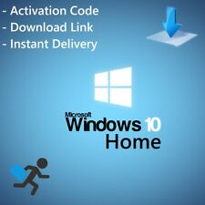 Microsoft Windows 10 HOME Vollversion 32 & 64 Bit Product-Key Win 10 HOME