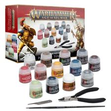 Warhammer edad de Sigmar pinturas y herramientas Set-Warhammer aos -! totalmente Nuevo! 80-17
