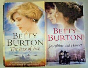 2 x Betty Burton - The Face of Eve + Josephine and Harriet