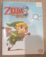 Legend of Zelda Phantom Hourglass Strategy Guide Premier Edition Nintendo