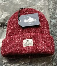 PENFIELD USA CONWAY RED Beanie Hat - Super Comfy & Warm - One Size - NEW / TAGS
