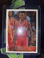 1996-97 Topps #171 ALLEN IVERSON RC Rookie 📈📈👍🏼🔥