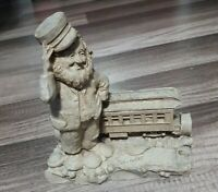 Tom Clark Gnome Pullman Train 1986 Union Pacific Railroad Uncolored RARE