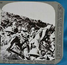 WW1 Stereoview Infantry Take German Position In Balkan Hills Realistic Travels