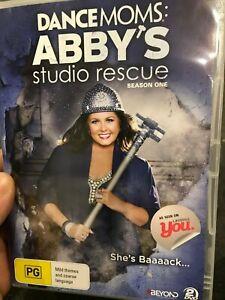 Dance Moms - Abby's Studio Rescue Season 1 region 4 DVD (2 discs) tv series