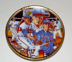 "Tom Glavine Sports Impressions Collector's Mini Plate 4"" Atlanta Braves"