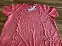 Tommy Bahama Cirrus Coast V-Neck Tee Vneck Tshirt XXL Mandalay Red New W Tags