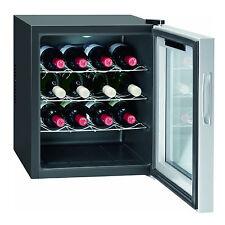 BOMANN KSW 344 Weinklimaschrank (131 kWh/Jahr, EEK A, 16 Flaschen, Schwarz)