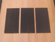 Ebony Head placage frontale poupée luthier tonewood Guitar Making