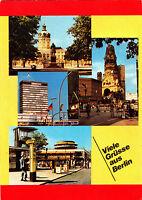 Viele Grüsse aus Berlin ,  Ansichtskarte