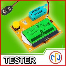 TESTER Capacimetro Transistor Resistenze Induttanze LCD-T3