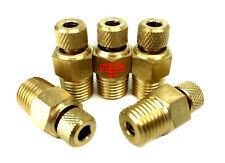 "1/4"" Drain valve air compressor tank water drain plug (5 packs)"