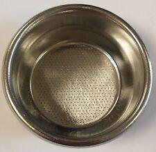 Gaggia 2 Cup Filter Basket Not Pressurised NF08/005 Original Spare Part