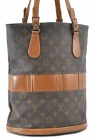 Auth Louis Vuitton Monogram Bucket GM Shoulder Bag USA Model T42236 LV A7824