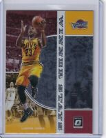 "2019-20 Donruss Optic ""Winner Stays"" LEBRON JAMES - Cleveland Cavaliers, Lakers"