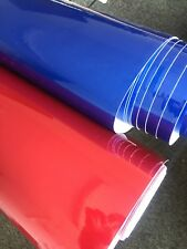"Supper Gloss Metallic Vinyl Car Wrap ""Air Free Bubble"" Wrapping Film Sticker"