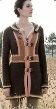 RARE Anthropologie Cider Press Sweater Coat Sweatercoat Sparrow 8 10 M