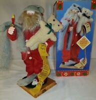 Vintage Night Time Santa Figments of Folklore Christmas 1994 Original Box