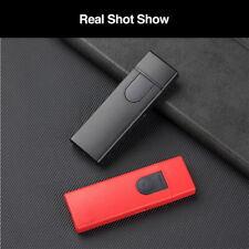 Protable Sensitive Touch Sensor USB Electric Lighter Flameless Dual ARC Light