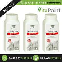 SILVERLENE ATHLETES HEALTHY FOOT MEDICATED POWDER SOOTHES & PROTECTS / PACK OF 3