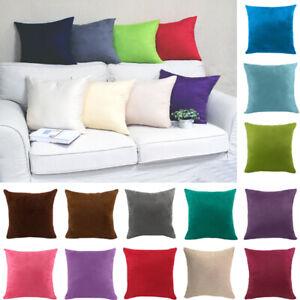 40x40cm Car Cushion Cover Pillowcases Suede Fabric Pillow Case Living Room