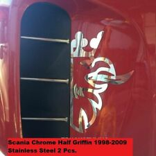 Scania Chrome Half Griffin 1998-2009 Stainless Steel 2 Pcs.
