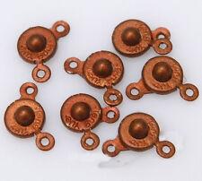 2015 Snap Fastener Clasp Hooks Connectors For Bracelet Necklace Making 30 Pcs