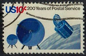 US 1975 200 years of Postal Service 10 Cent STAMP