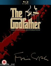 The Godfather The Complete Trilogy Box Set Collection | New | Sealed | Blu-ray