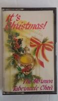 It's Christmas The Mormon Tabernacle Choir Cassette Holiday Tape