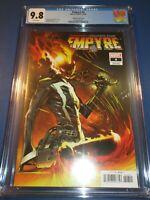 Empyre #4 Ghost Rider Variant CGC 9.8 NM/M Gorgeous Gem Wow