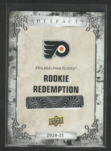 2020-21 Artifacts Philadelphia Flyers Rookie Redemption