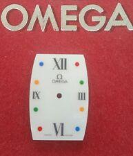 Esfera o dial omega quadrella 1990.mujer.nuevo de stock