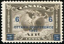 Canada Scott C4 6c on 5c, C2 Surcharged  MLH OG (16279)