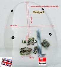 Nuevo Parabrisas Royal Enfield Bala Moto Bicicleta de piezas de repuesto con accesorios