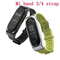 Mi Band 3 4 Strap Bracelet for Xiaomi Smart Watch Silicone Wrist Strap Wristband