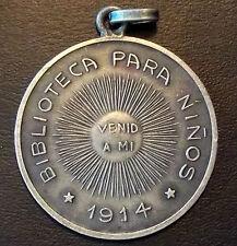 "URUGUAY 1914 LIBRARY FOR CHILDREN, TEACHING MUSEUM ""BIBLIOTECA PARA NIÑOS"""